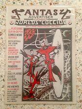 Fantasy Advertiser no. 81 Miracleman UK Fanzine Alan Moore