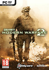Call of Duty Modern Warfare 2 MW2 - PC DVD Brand New and Factory Sealed