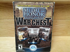 MEDAL OF HONOR ALLIED ASSAULT WAR CHEST PC GAME ACTION SHOOTER WWII