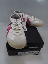 ASICS Women's ONITSUKA TIGER MEXICO 66 Running Shoes Off White/Hot Pink US 11