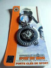 Buffalo Sabres Round Key Ring  NEW