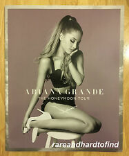 Ariana Grande HONEYMOON WORLD TOUR BOOK 2015 My Everything
