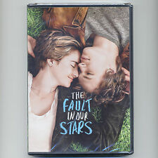 The Fault in Our Stars 2014 romantic drama PG movie, new DVD Woodley Elgort Dern