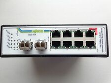 Wago 852-104 Ethernet-Switch; 7 Ports 100Base-TX; 2 Slots 100Base-FX