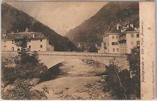 CARTOLINA d'Epoca - VERBANIA provincia-  Bannio Anzino : Pontegrande