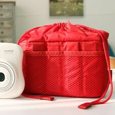 NEW Ciesta Camera insert Partition Padded Bag Case(Red) for SLR RF instax mini