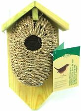 Bird House Sea Grass Nest Roosting Birdhouse w/  Roof