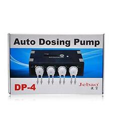 JEBAO DP-4 VERSION 2 AUTO DOSING PUMP - SALTWATER AQUARIUM REEF - 4 CHANNEL