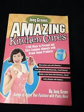 Joey Green's Amazing Kitchen Cures Book (1,150 ways!)  FREE SHIPPING!!!!