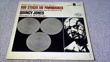 QUINCY JONES THE PAWNBROKER OST 1st UK LP 1965 JAZZ FUNK Rod Steiger Dialogue