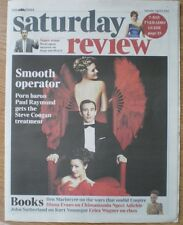 Steve Coogan plays Paul Raymond – The Times Saturday Review - 6 April 2013