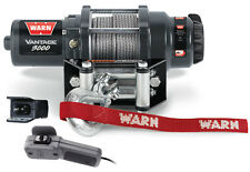 Warn ATV Vantage 3000 Winch w/Mount 07-14 Yamaha Grizzly 700-Winch 89030