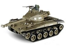 1:16 U.S. M41A3 Walker Bulldog RC Tank Smoke & Sound 2.4GHz Remote Control New