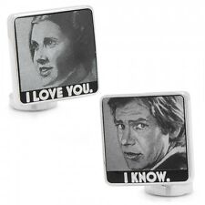 Star Wars I Love You I Know Cufflinks Free Shipping