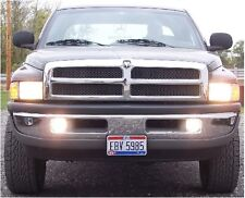 94 DODGE RAM TRUCK HIGH BEAM FOG LIGHT KIT 95 96 97 98 99 00 01 Non Sport