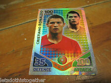 Match Attax Attack World Cup 2010 - Cristiano Ronaldo 100 Hundred Club CHEAP!