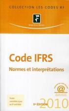 Code IFRS par l'équipe rédactionnelle de  RF comptable    Revue fiduciaire compt