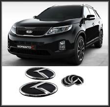 Front Hood / Trunk / Steering Horn K Logo Emblem 6p for KIA  SORENTO R ( 2013 )