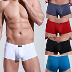 Trunks Sexy Underwear Men Boxer Briefs Shorts Bulge soft Underpants new