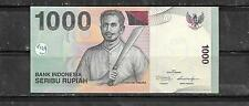 INDONESIA #141K 2011 UNCIRCULATED NEW 1000 RUPIAH BANKNOTE BILL NOTE PAPER MONEY