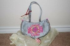 New Monica Famora Sea Shell Beaded Purse Handbag Bag