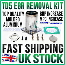 NEW DISCOVERY 2 TD5 FULL ALLOY EGR REMOVAL KIT + BLANKING PLATE, GASKET & BOLTS