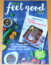 Weight Watchers Meine Feel Good Woche 2.10-8.10 SmartPoints 2016 Wochenbroschüre