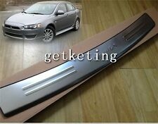 DOOR SILL PLATE PROTECTOR GUARD TRIM REAR BUMPER For MITSUBISHI LANCER 2008-ON