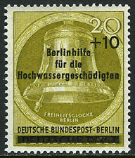 Germany-Berlin 9NB17, MNH. Bell. Surcharged, 1956