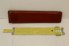 Pickett slide rule N-16-ES with leather case