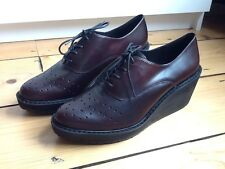 *NEW* CLARKS UK7 EUR41 PATENT LEATHER BROGUES SHOES COST £70