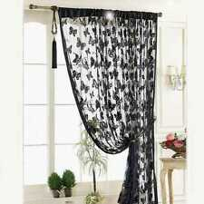 New Door Window Curtain Room Divider Strip Tassel Butterfly Pattern HOT