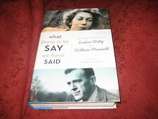 What There...The Correspondence of Eudora Welty & William Maxwell SUZANNE MARS