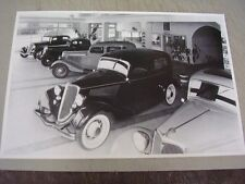 1934 FORD  NEW 34'S IN SHOWROOM  12 X 18 LARGE PICTURE   PHOTO