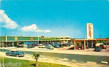 1958 Ellinor Village Shopping Center, Ormond Beach, Florida Postcard