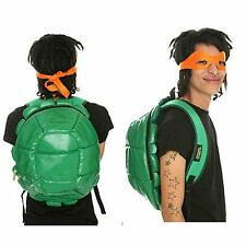 Officiel Teenage Mutant Ninja Turtles shell sac à dos 4 masques visage-TMNT école