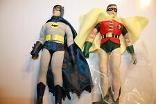 BATMAN 1966 TV SERIES 1; BATMAN & ROBIN 8 INCH ACTION FIGURE NEW IN POLYBAG