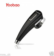 Yoobao Black Bluetooth Handsfree Headset Earphone for Iphone 6 ,5, 4 ect