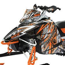 Arctic Cat 2012-2017 ZR F XF M Throttle Hood & Side Panel Decal Wrap - Orange