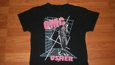 Cool Hip Hop Rap USHER Pistol Microphone Shirt small singer
