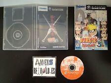 Naruto Gekito Ninja Taisen 3 (boite & notice) Nintendo Gamecube Import Japonais