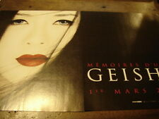 GONG LI - Publicité de magazine FILM MEMOIRES D'UNE GEISHA !!!!!!!!!!!!