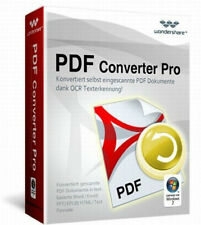 Wondershare PDF Converter PRO 4.1 dt.Vollvers. ESD Download 51,- statt 79,99 EUR