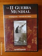 DVD LA II GUERRA MUNDIAL - ESTALINGRADO - MANADA DE LOBOS - COMO NUEVA (G3)