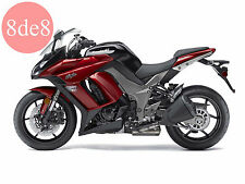 Kawasaki ZX-10R Ninja ZX1000GB (2012) - Workshop Manual on CD