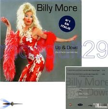 "BILLY MORE ""UP & DOWN"" RARE CDM ITALO DANCE FRANCIA gay"