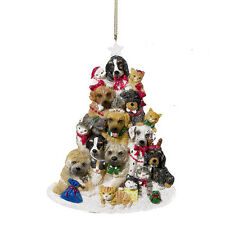 Dogs & Cats Tree Ornament