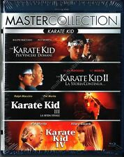 KARATE KID LA QUADRILOGIA - COFANETTO BLU RAY DISC NUOVO