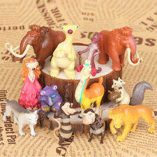 12PCS Ice Age 4 Action Figure MIni Collection Toy Figurine New 2 Inch