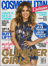 COSMOPOLITAN FOR LATINAS MAGAZINE WINTER 2013, JENNIFER LOPEZ.